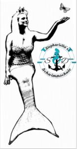 Ausmalbild Nr. 2 von Schwimmschule Stephariella