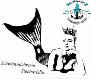 Ausmalbild Nr. 4 von Schwimmschule Stephariella